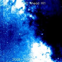 Milky Way as seen by STEREO Ahead HI1