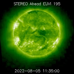 Solar Latest EUVI AIA 195 Images