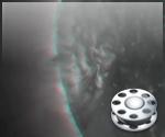 EUVI telescope 3D SUN - ANAGLYPH - SUN3D